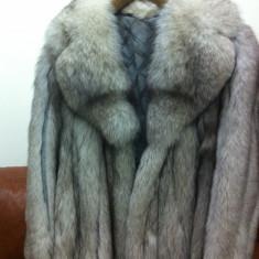Vand haine de blana vulpe argintie, Marime: M/L