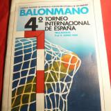 Caiet de Prezentare -Al IV-lea Turneu International Handbal 1980