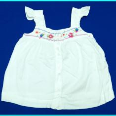 FRUMOASA→ Bluza—bluzita, in + bumbac, broderie, H&M→ fetite | 18—24 luni | 92 cm, Marime: Alta, Culoare: Alb, Fete