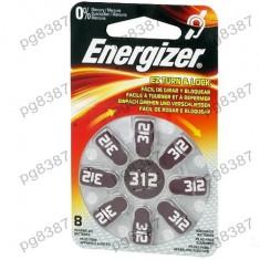 Baterie AC312, R36, zinc-aer, 1,4V, Energizer, pentru aparate auditive-050204