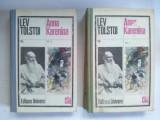Anna Karenina – Lev Tolstoi ( vol. I si Vol II) Ed. Univers  -1980