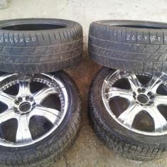 "Set Jante Cromate 20"" ; Cauciucuri 5x120 si 5x114.3 - Janta aliaj Toyota, Numar prezoane: 5"