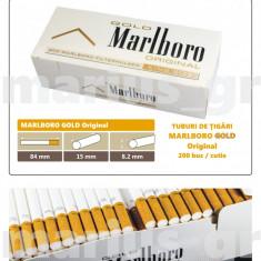 1.000 tuburi de tigari Marlboro Gold Original pentru injectat tutun - Foite tigari