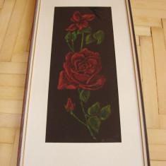 Frumos pastel pe carton, semnat B. Soini 1964 (5) - Pictor strain, Natura moarta, Realism
