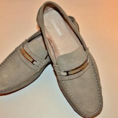 Loafer Barbati noi Calvin Klein - Mocasini barbati Calvin Klein, Marime: 43.5, Culoare: Gri, Gri
