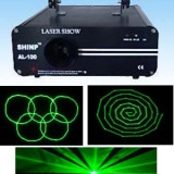 PROMOTIE! LASER PROFESIONAL DE PUTERE SHINP AL100 VERDE CARE SCRIE SI DESENEAZA 3D+INTERFATA CONECTARE LA PC BONUS !!! - Laser lumini club