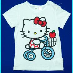 NOU, DE FIRMA→ Tricou, bumbac, Hello Kitty, H&M → fetite   18—24 luni   92 cm, Alta, Alb, Fete