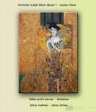 Tablou canvas - Portretul Adelei Bloch-Bauer I - Gustav Klimt (80x60cm), livrare gratuita in 24h