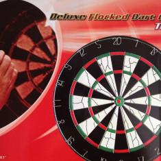 Joc Darts 15'/38.10 cm diametru, de lux, 6 sageti 18 grame - Set Darts