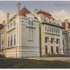 Botosani, Palatul Justitiei, necirculata, 1926 - Carte Postala Moldova dupa 1918