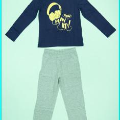 NOI → Pijamale subtiri, dragute, din bumbac, TEX → baieti | 5-6 ani | 104-110 cm, Marime: Alta, Culoare: Bleumarin