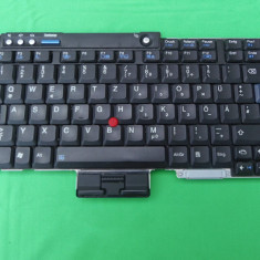 TASTATURA LAPTOP LENOVO THINKPAD X60 X60S FRU 42T3470 FUNCTIONALA!