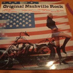 Original Nashville Rock disc vinyl muzica Rock & Roll Rockabilly lp compilatie, VINIL