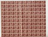 COALA TIMBRE REGELE MIHAI 100 LEI 1945-1947, Nestampilat