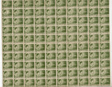 COALA TIMBRE REGELE MIHAI 160LEI 1945-1947, Nestampilat