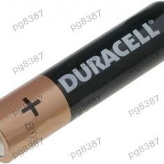 Baterie AAA, R3, alcalina, 1,5V, Duracell Basic, blister 4 buc - 050273