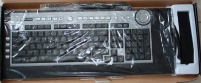 Tastatura multimedia cu telefon pentru SKYPE,Messenger-Model MC-9001 - Garantie foto