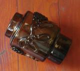 Vaza masiva - deosebita - ornamente frumoase si inedite  !!!!