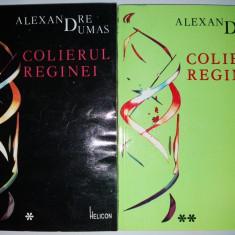 Al. Dumas – Colierul Reginei  ( vol. I si vol. II )Ed. Helicon -1992