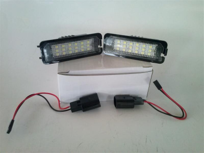 Lampa LED numar VW GOLF 4/5  PASSAT 4D/CC/POLO 7402 foto