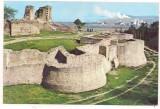 #carte postala(ilustrata)-SUCEAVA-Cetatea de scaun, Circulata, Printata