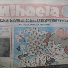 MIHAELA / GAZETA PENTRU TOTI COPIII / NELL COBAR (nr. 22 din 28 februarie 1991) - Program meci