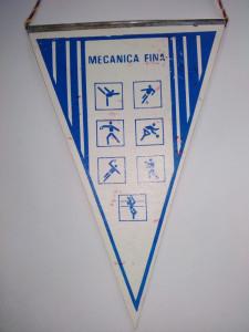 Fanion Asociatia Sportiva Mecanica Fina - Steaua Bucuresti