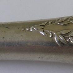 Miner tacim vechi din argint cu monograma