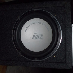 Boxa+amplif MNC - Subwoofer auto, peste 200W