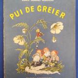 CARTE POEZII COPII ~ DOMNITA GEORGESCU MOLDOVEANU - PUI DE GREIER * ILUSTRATII V.GRESCENCO - BUCURESTI - 1967