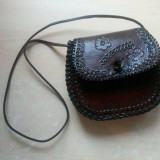 Geanta din piele naturala de bivol Traditionala