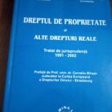 Dreptul de proprietate si alte drepturi reale Tratat   Marin Voicu, Alta editura