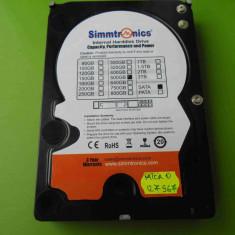 HDD 500GB Simmtronics SATA - DEFECT - Hard Disk Seagate, 500-999 GB, Rotatii: 7200, 8 MB