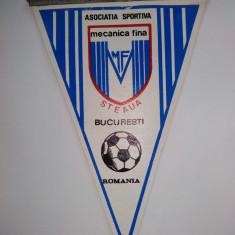 Fanion Asociatia Sportiva Mecanica Fina - Steaua Bucuresti - Fanion fotbal