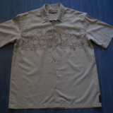 LICHIDARE -CAMASA QUICKSILVER    XL, Maneca scurta, Bej