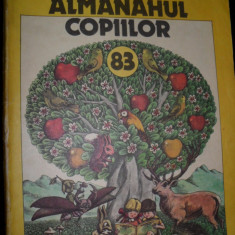 Almanahul copiilor, 1983 - Carte educativa