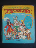 THE NEW WALT DISNEY TREASURY - 10 FAVORITE STORIES  {ilustrata color, format mare}
