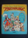THE NEW WALT DISNEY TREASURY - 10 FAVORITE STORIES  {ilustrata color, format mare}