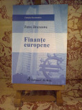Petre Brezeanu - Finante europene, Alta editura