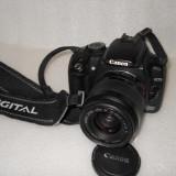 CANON EOS 350D DIGITAL CU OBIECTIV CANON EF 35-80mm - DSLR Canon, Kit (cu obiectiv), 8 Mpx, HD