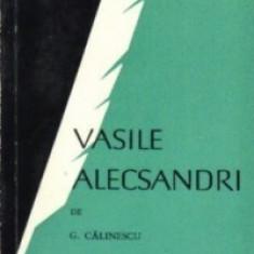 George Calinescu - Vasile Alecsandri