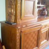 Vand urgent mobila sufragerie lemn masiv - Masa living