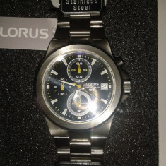 Ceas LORUS chronograph - Ceas barbatesc Lorus, Elegant, Inox, Cronograf, Analog