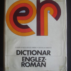 LEON LEVITCHI * ANDREI BANTAS * ADRIAN NICOLESCU - DICTIONAR ENGLEZ-ROMAN {format mare, 120.000 de cuvinte}
