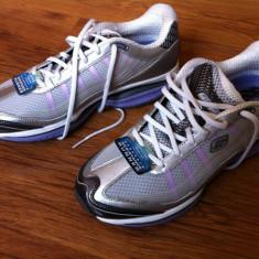 Adidasi SRR Skechers Resistance Runner - Adidasi dama Skechers, Culoare: Argintiu, Marime: 39, Argintiu