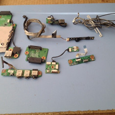 KIT REPARATIE HP PAVILION DV9000 (BOXE, MODUL SUNET, BUTON PORNIRE, MODUL USB, MODUL WIFI, MICROFON, ADAPTOR DVDRW, ANTENE WIFI) - Dezmembrari laptop