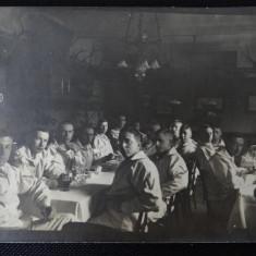 CP - Soldati - cazarma - Fotografie veche