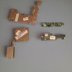 KIT REPARATIE DELL D600 (BUTON PORNIRE,MODUL USB,COOLER,RADIATOARE )