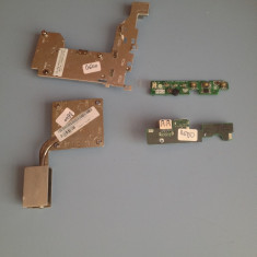 KIT REPARATIE DELL D600 (BUTON PORNIRE, MODUL USB, COOLER, RADIATOARE ) - Dezmembrari laptop HP