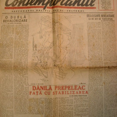 Ziarul Contemporanul nr.49-29 aug.1947 - Revista vintage